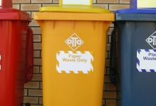 Photo of Use of skip bin in disposal of waste