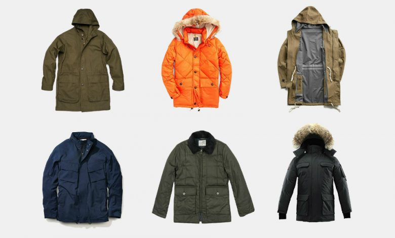 Where can you get the winter jackets and long overcoat under the low cost?